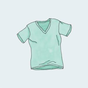 V-Neck T-Shirt – Verde